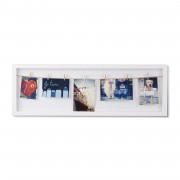 Рамка за снимки UMBRA CLOTHESLINE FLIP - цвят бял