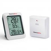 ThermoPro TP60 60 M Draadloze Digitale Hygrometer Indoor Outdoor Thermometer Vochtigheid Monitor met Temperatuurmeter Vochtigheidsmeter