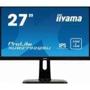 Monitor LED 27 Iiyama XUB2792QSU-B1 IPS WQHD 5ms