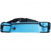 47.5CM WP2 Al Aire Libre Resistente A La Agua De La Cintura Fanny Bolsa De Bolsa De Paquete Para El Hombre Mujer Deportes Viajes Corriendo Senderismo Para Teléfonos Móviles De Menos (azul Claro)