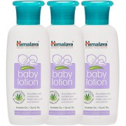 Himalaya Baby Lotion 100 ml (Pack of 3)