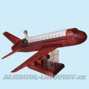 Letadlo JET + 2 štamprle