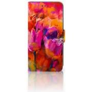 Xiaomi Mi A2 Lite Boekhoesje Design Tulips