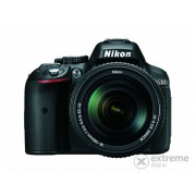 Kit aparat foto Nikon D5300 (cu obiectiv de 18-140mm VR), negru 3 ani garantie la body
