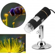 EH 50-500x 2MP USB 3.0 8LED Lupa Microscopio Digital Endoscopio Camara De Video
