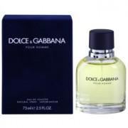 Dolce & Gabbana Pour Homme Eau de Toilette para homens 75 ml