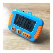 Cocina Temporizador Electrónico Digital Con Pantalla LCD De Alarma Alto Horno Para Cocinar Juegos De Deportes Office (azul)