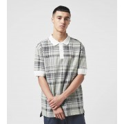 Fred Perry Jacquard Check Polo Shirt, S.WHT/S.WHT