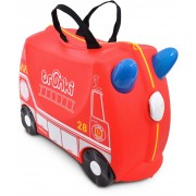 Trunki Frank The Firetruck Resväska 18L, Red