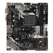 Дънна платка ASROCK A320M-DVS R4.0 /AM4, AMD Promontory A320, Micro ATX, DDR4