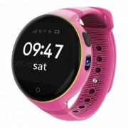 ZGPAX S668 Wi-fi De Los Ninos GPS Telefono Inteligente Reloj SOS Rastreador - Rosa