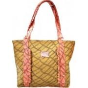 IndusBay Women Shoulder HandBag Ladies Satchel Bags with Designer Belt Beige Shoulder Bag(Beige, 12 inch)