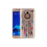 Para Samsung Galaxy J7 (2016) / J710 Patron Imd Calidad Tpu Suave Color Campana Protectora Caso