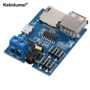 Kebidumeitf-kaart U schijf Mp3-formaat decoder board module versterker decodering audio Speler