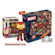 Iron Man Con Rompecabezas Marvel Funko Pop Avengers Infinity War