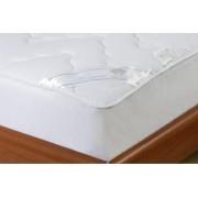 Protectie saltea matlasata Pearl Elite 140 x 200 cm Alb