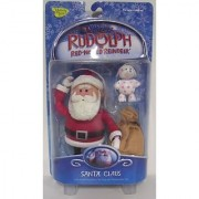 Rudolph the red-nosed Reindeer Santa Claus Action Figure
