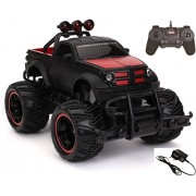 Zombi HB Remote Control Mad Racing Cross Country Hummer Style Truck 1:20 - Red And Black