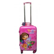 """Simba Kids Trolley Dora 21"""" Inch Travelling Suitcase"""