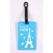 Shrisay Ventures Travel In Paris Pack Of 2 Luggage Tag(Multicolor)