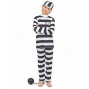 Vegaoo Gefangenen-Kostüm für Kinder