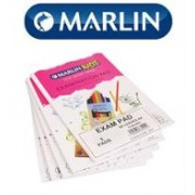 Marlin A4 Exam Pads Punched 80 Pages- Pack of 5,
