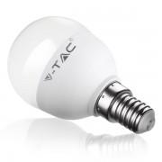 LED осветление, V-Tac 6W E14 P45 VT-1880, Топла (SKU-4250)