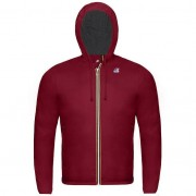 K-Way Vestes printemps/été unisexe Capuche Slimfit Paquetable Jacques Nylon Jersey Bordeaux - M