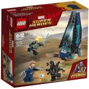 Lego super heroes 76101 avengers set costruzioni bad guy dropship