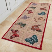 Butterfly Kitchen Mat by Coopers of Stortford