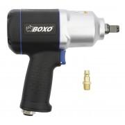 """ZESTAW Klucz pneumatyczny udarowy do kół BOXO 1280Nm 1/2"""" + wtyk 1/4"""" - 1280 Nm"""