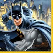 Batman thema lunchservetten 16 stuks