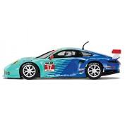 Scalextric Porsche 911 RSR Falken Tire 1:32 Slot Car C3851 Vehicle Replica