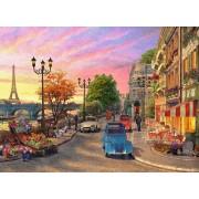 Puzzle Ravensburger - Dominic Davison: O Seara In Paris, 500 piese (14505)