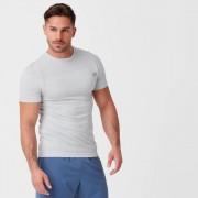 Myprotein Camiseta sin costuras Sculpt - L - Silver