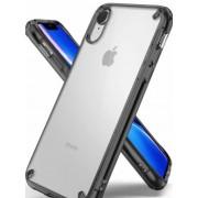 Protectie Spate Ringke Fusion 8809628562257 pentru iPhone Xr (Transparent/Fumuriu)