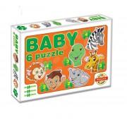 Dohány Toys - Baby puzzle Állatkák