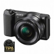 Sony Alpha A5100(ILCE-5100L/B) + SEL16-50mm E-Mount, 20.1MP,WiFi/NFC,FullHD RS125014192-3