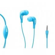 Casti stereo cu fir si microfon SBS teinearbl, Blue