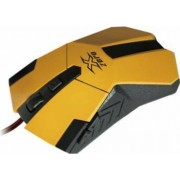 Mouse Gaming Vakoss X-Zero USB 2400dpi Yellow