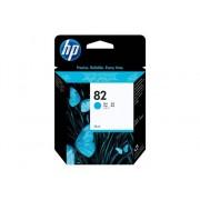 HP Cartucho de Tinta Original HP 82 de 69 Ml C4911A Cián para DesignJet 10, 100, 120, 20, 50, 500, 510, 800, 815, 820, Designjet Copier cc800