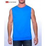 Go Softwear Cal. Guy Shredder Muscle Top T Shirt Scuba Blue 4717