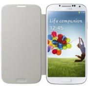 Husa tip Flip Samsung EF-FI950BWEGWW pentru Galaxy S4 i9505/i9500 (Alba)