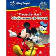Disney English. Treasure hunt Vanatoarea de comori. Invata despre vehicule locuri