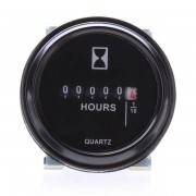 Meco Round Hour Meter For Cart Boat Tractor Generator Engine Mower 10-80V