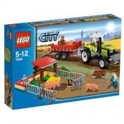 Lego City Farm Pig Farm and Tractor