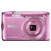 Digital Camera Coolpix A300 Pink + Калъф + Карта памет 16GB