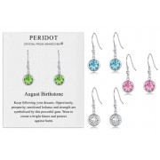 Silver Supermarket Ltd £7.99 for a pair of birthstone drop earrings in a choice of 12 birthstones from Philip Jones!