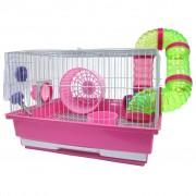 Cusca hamsteri 415B, diverse culori, 35 x 28 x 23 cm