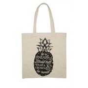 Womens Canvas Bag - Pineapple